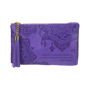 Violet by Intrinsic - Gift Boxed Vegan Leather Coin Purse