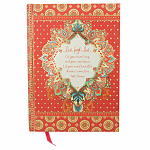 "Live Laugh Love by Intrinsic - 8.5"" x 6.25"" Journal"