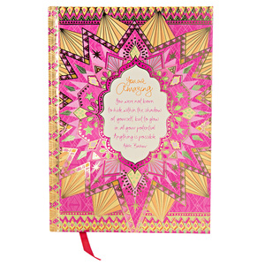 "You Are Amazing by Intrinsic - 8.5"" x 6.25"" Journal"