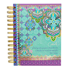 "Create by Intrinsic - 7.5"" x 6.5"" Spiral Notebook"