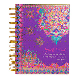 "Beautiful Friend by Intrinsic - 7.5"" x 5.75"" Spiral Notebook"