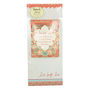 Live Laugh Love by Intrinsic - Magnetic List Pad Set