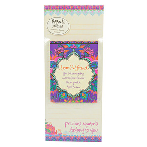 Beautiful Friend by Intrinsic - Magnetic List Pad Set