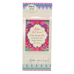 Follow Your Heart by Intrinsic - Magnetic List Pad Set