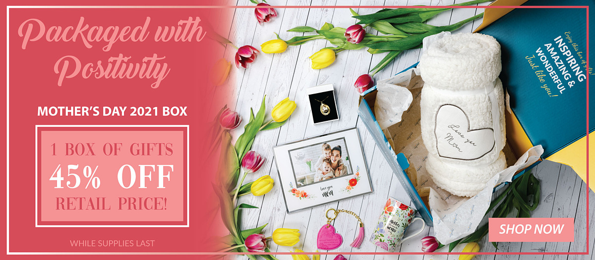 Packaged with Positivity Mother's Day 2021 Box