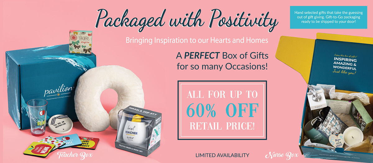 Discounted Gift Boxes - Packaged With Positivity