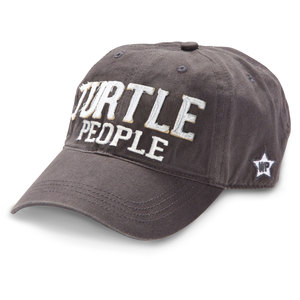 Turtle People by We People - PLAIN BACK - Dark Gray Adjustable Hat