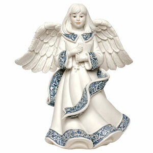 "Marjorie by Sarah's Angels - 4.5"" Angel w/Book & Rosary"