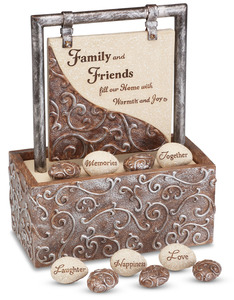 "Family & Friends by Comfort to Go - 7.75"" x 6"" Desk Fountain"
