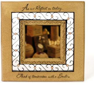 "Smile by Comfort Candles - 10"" Mirror"