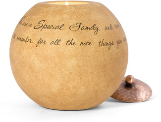 "Special Family by Comfort Candles - 5"" Round"