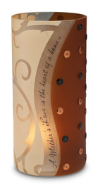 "A Mother's Love by Comfort Candles - 6"" Glass Cylinder"
