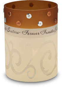"Sister by Comfort Candles - 4"" Glass Cylinder"