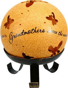 "Grandmothers by Comfort Candles - 4"" Pierced Round Candle Holder"