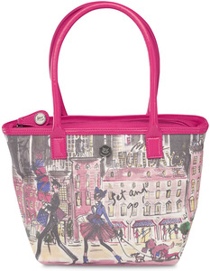 "Set and Go! by IZAK - 11.5""x8""Insulated Lunch Tote"