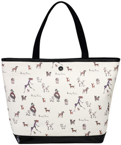 "Poochy! Poochy! by IZAK - 16"" x 12"" Canvas Tote Bag"