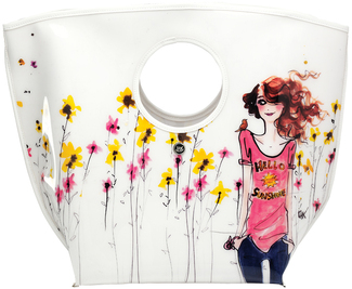 "Hello Sunshine by IZAK - 11.25""x16"" PVC Tote Bag"