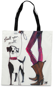 "Strut your Mutt by IZAK - 17.5 x 16"" Nylon Tote w/Case"