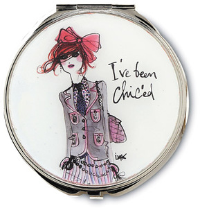 "I've Been Chic'ed by IZAK - 2.75"" Compact Mirror"