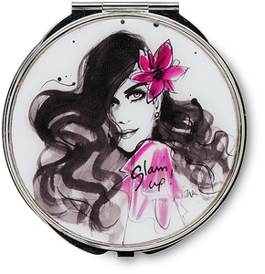 "Glam up! by IZAK - 2.75"" Compact Mirror"