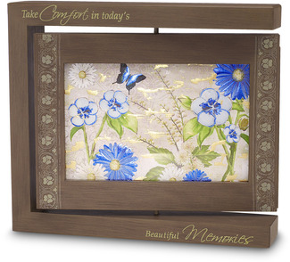 "Memories - Photo Frame by Bonita - 8.25""x7.25"" Rotating Frame"
