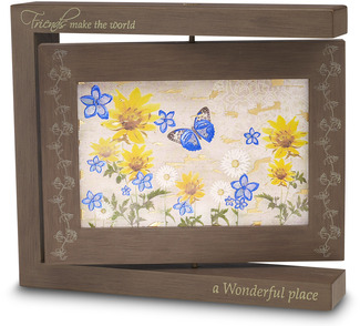 "Friends - Photo Frame by Bonita - 8.25""x7.25"" Rotating Frame"