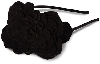"Faye - Black by Vintage Vanity - 5.75"" Hair Candy Headband"