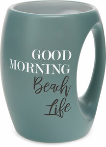 Beach Life by Good Morning - 16 oz  Mug
