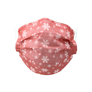 Snowflakes by Pavilion Cares - Adult Disposable 3-Layer Face Mask (Set of 7)