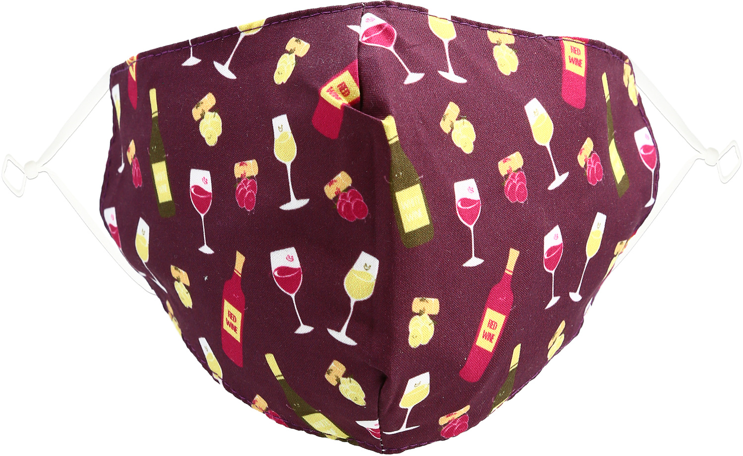 Wine by Pavilion Cares - Wine - Adult Reusable Fabric Mask