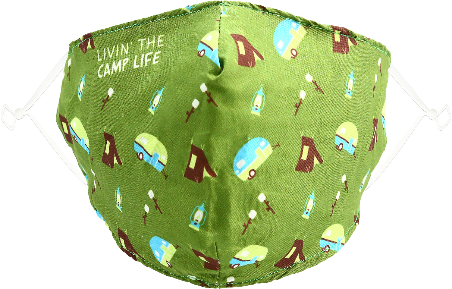 Camp Life by Pavilion Cares - Camp Life - Adult Reusable Fabric Mask