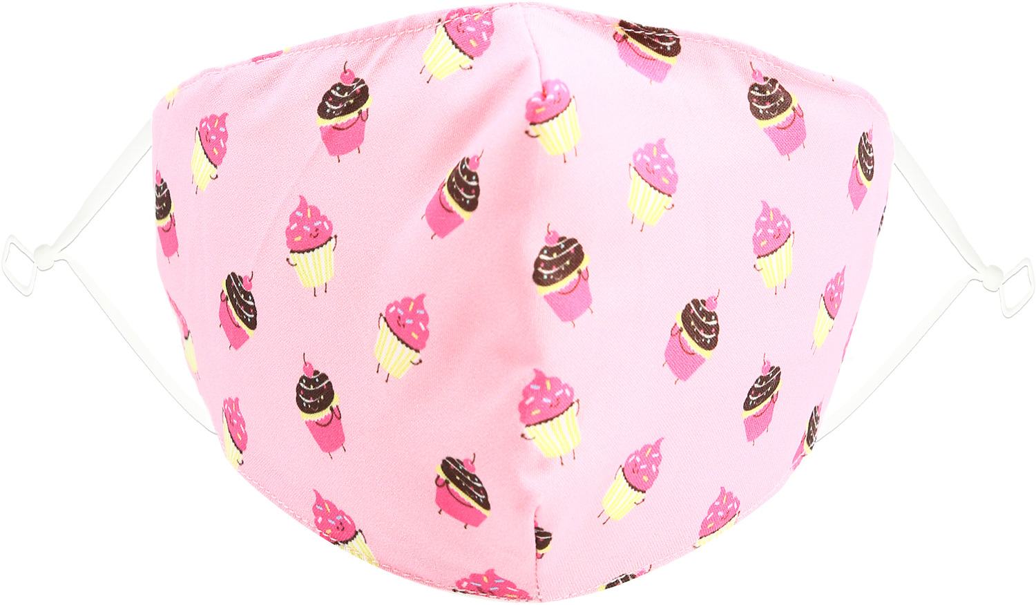 Cupcakes by Pavilion Cares - Cupcakes - Kids Reusable Fabric Mask