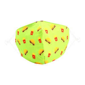 Cheeseburger by Pavilion Cares - Kids Reusable Fabric Mask