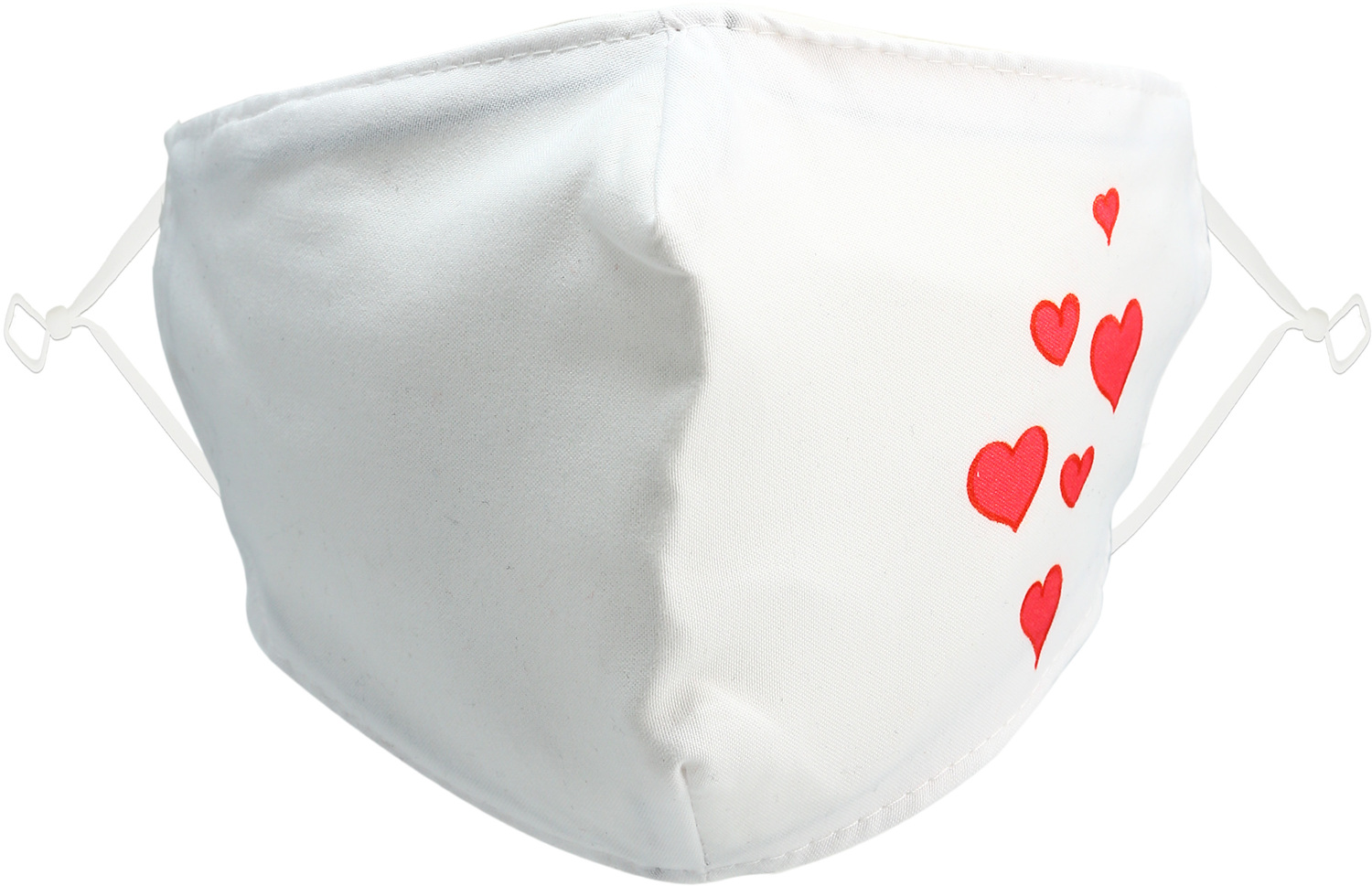 Valentine's Hearts by Pavilion Cares - Valentine's Hearts - Adult Reusable Fabric Mask