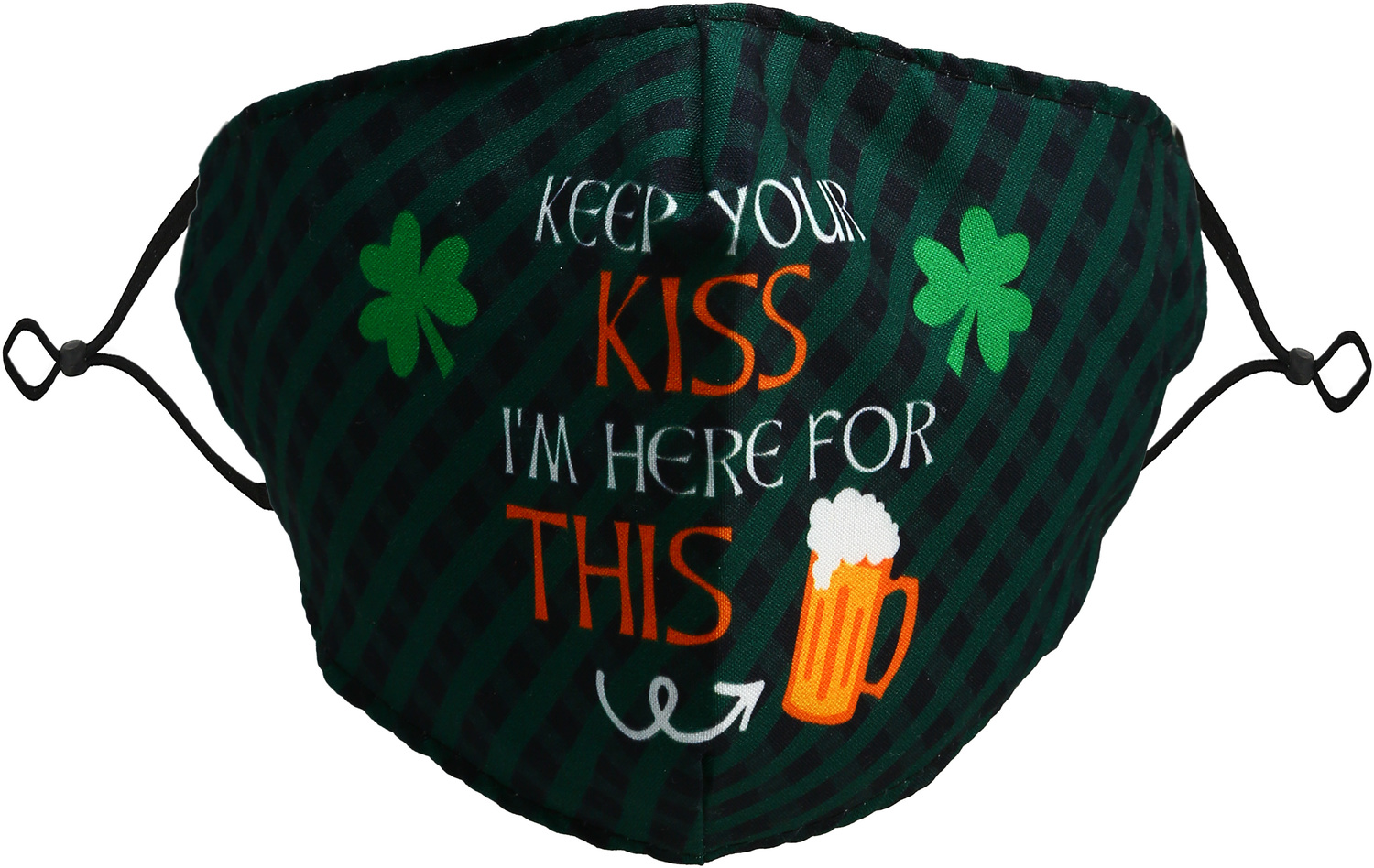 Keep Your Kiss by Pavilion Cares - Keep Your Kiss - Adult Reusable Fabric Mask