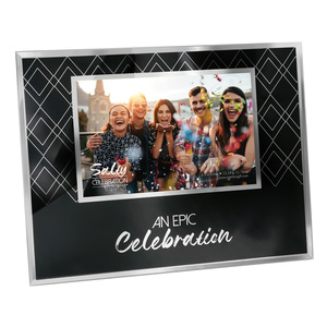 "Epic by Salty Celebration - 9.25"" x 7.25"" Frame (Holds 6"" x 4"" Photo)"