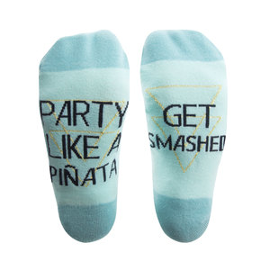 Party by Salty Celebration - Ladies Cotton Blend Sock