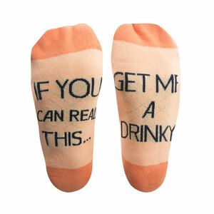 Drinky by Salty Celebration - Ladies Cotton Blend Sock