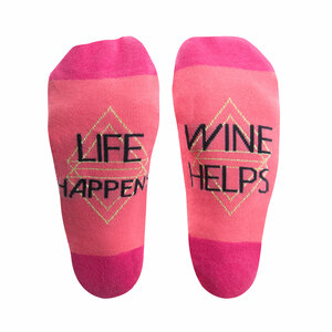 Wine by Salty Celebration - Ladies Cotton Blend Sock