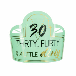 30 by Salty Celebration - Party Tiara