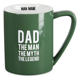 Dad the Legend by Man Made - 18 oz. Mug