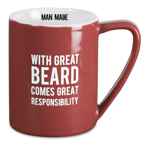 Great Beard by Man Made - 18 oz. Mug