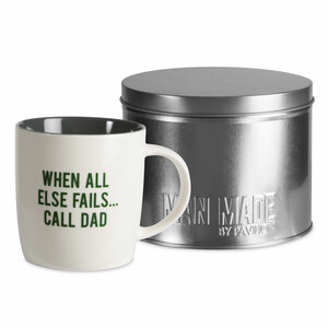 Call Dad by Man Made - 12 oz Cup with Gift Tin