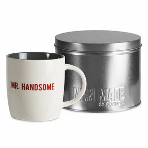 Mr. Handsome by Man Made - 12 oz Cup with Gift Tin