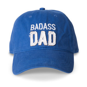 Dad by Man Made - Royal Blue Adjustable Hat