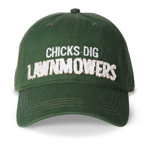 Lawnmowers by Man Made - Green Adjustable Hat
