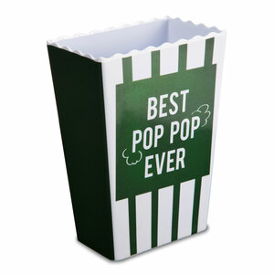 "Pop Pop by Man Made - 7.5"" Melamine Popcorn Bowl"