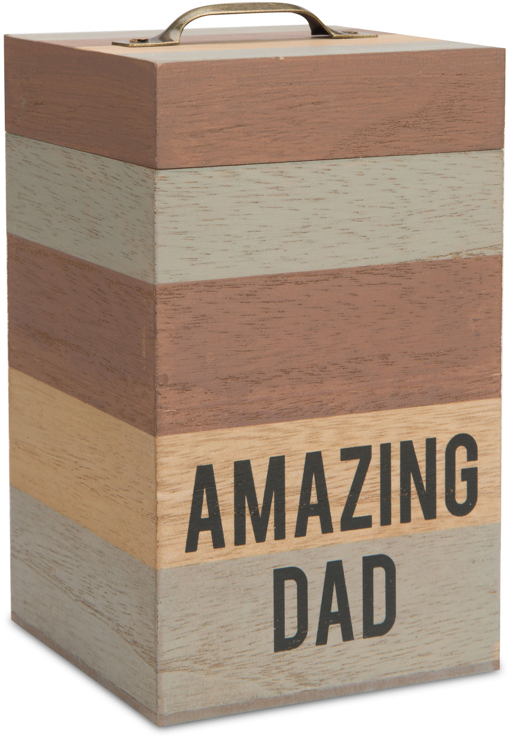 "Dad by Man Made - Dad - 6.25"" MDF Container"