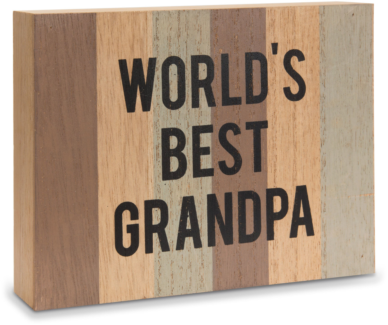 "Grandpa by Man Made - Grandpa - 6.5"" x 5"" MDF Plaque"