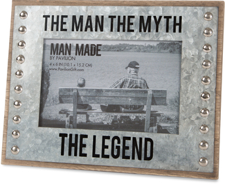 "The Legend by Man Made - 8.5"" x 6.5"" Frame (Holds 4"" x 6"" Photo)"